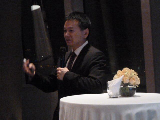 SUMO SIV presentation at Park Hyatt Hotel, Pudong, Shanghai. 6 September 2013