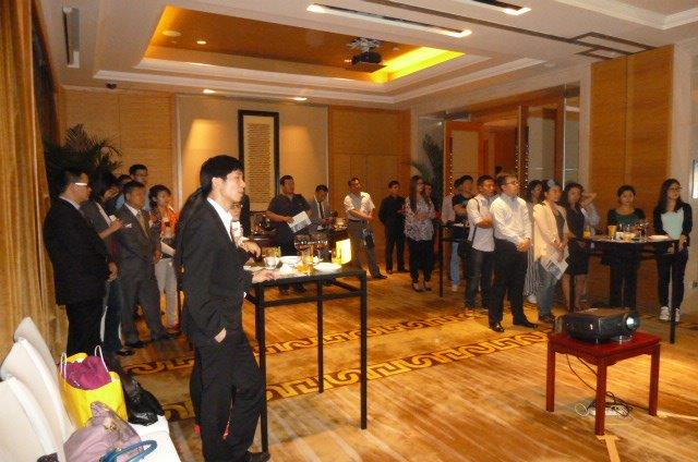 SUMO SIV presentation at Sofitel Hotel, Beijing. 9 September 2013