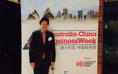 Australia China Business Week, Sydney. 6 August 2015