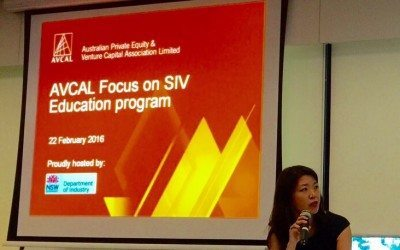 AVCAL Focus on SIV. Sydney. 22 February 2016